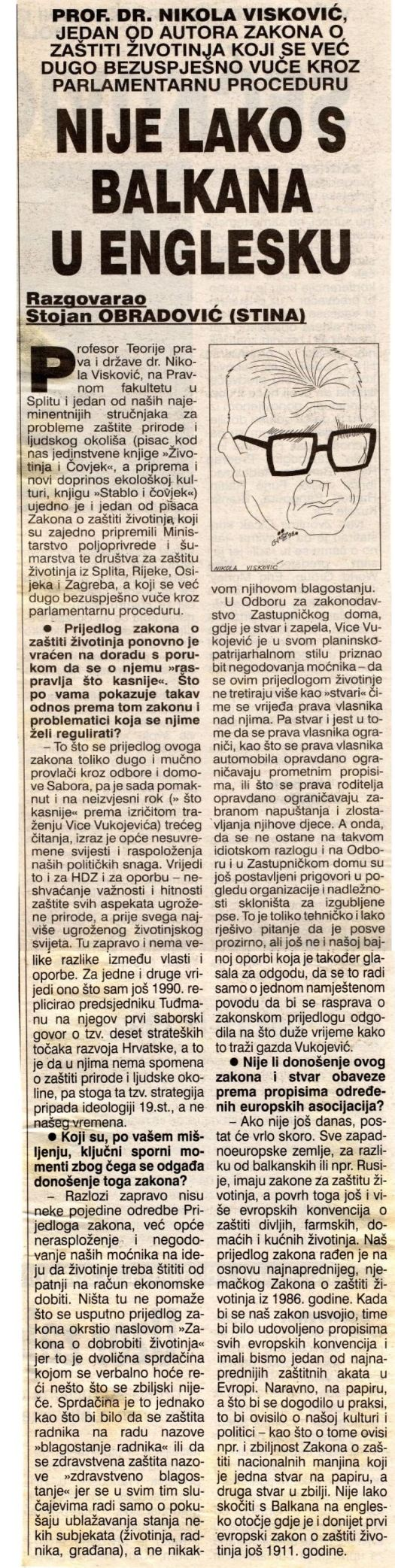 NOVI LIST, 25. 10. 1998.