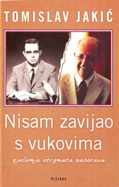 T. Jaki, naslovnica knjige