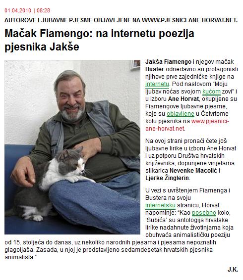 Slobodna Dalmacija, 1. 4. 2010